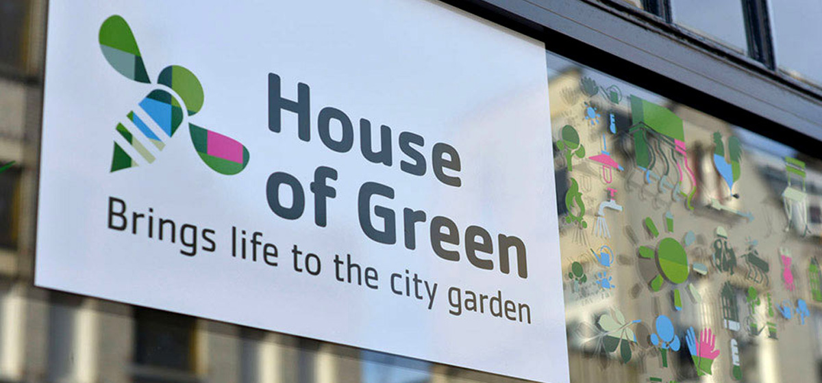 House of Green - identiteit & website